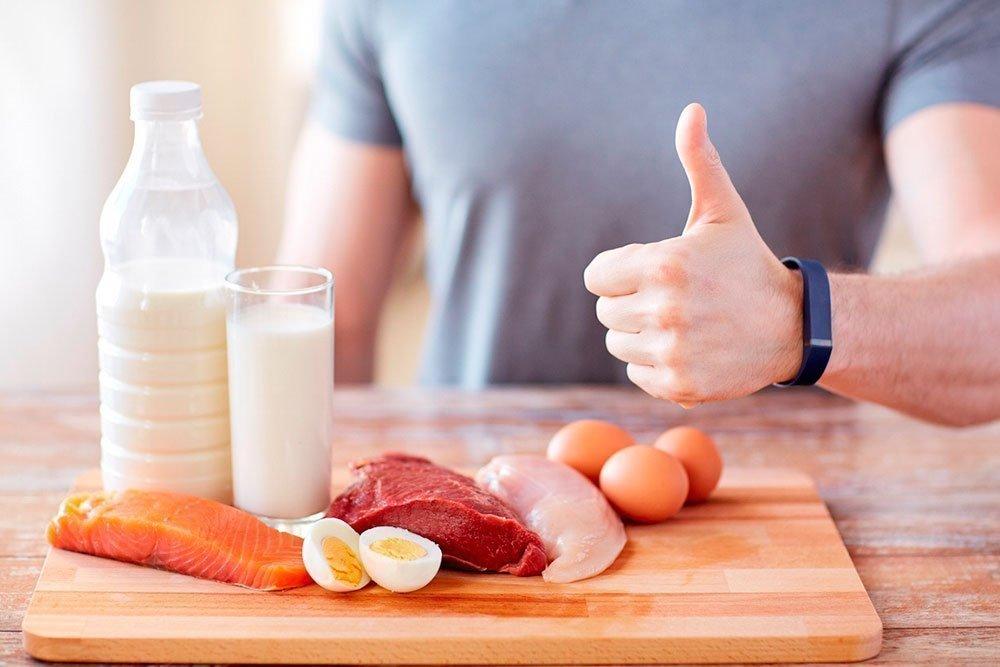 Особенности мужской диеты